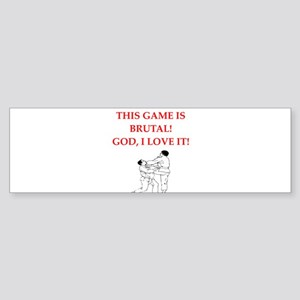 martial arts Bumper Sticker
